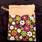Double Pocket Medium Wetbag - Floral