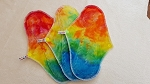 Rainbow Cloth Sanitary Pads