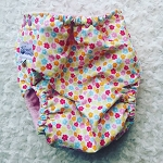 Summer Garden Print Swim Nappy - Child's XXL / Adults XS - NAPPY TO GO